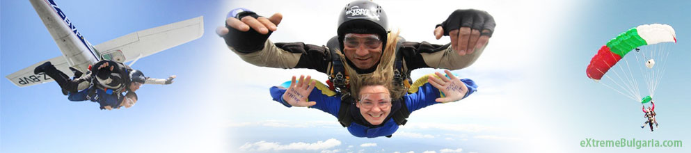 Parashuting / Sky diving